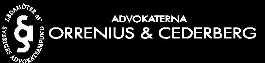 Advokaterna Orrenius & Cederberg HB